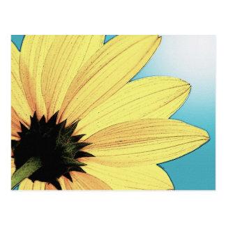 My Yellow Flower! Postcard