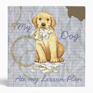My Yellow Lab Ate My Lesson Plan Binder