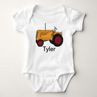 My Yellow Tractor Baby Bodysuit