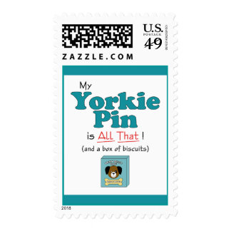 My Yorkie Pin is All That! Postage
