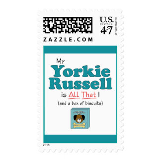 My Yorkie Russell is All That! Postage