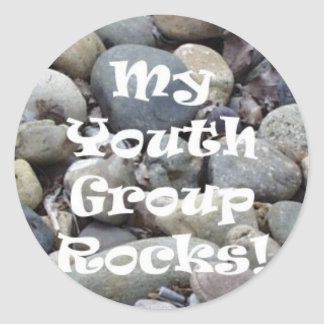 My Youth Group Rocks Stickers