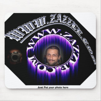My Zazzle Me, Just Put your photo here Mouse Pad