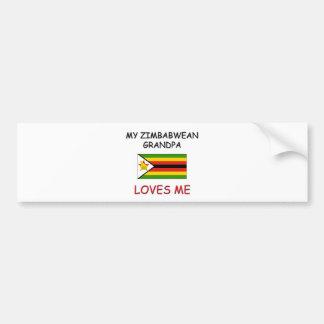 My Zimbabwean Grandpa Loves Me Bumper Stickers