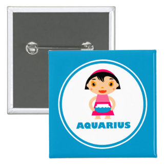 My Zodiac Sign is Aquarius Pins
