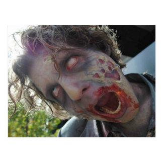 My Zombie Valentine Post Card
