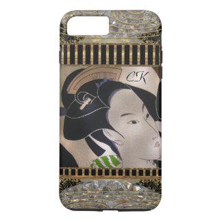 Mya Beauty with Monogram iPhone 8 Plus/7 Plus Case