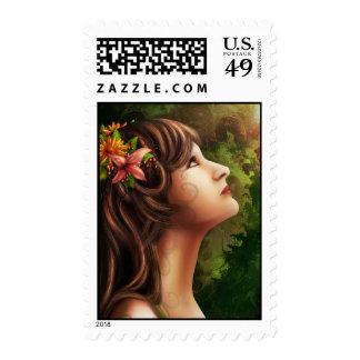 Mya Fine Art Postage Stamp