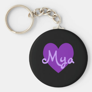 Mya in Purple Keychain