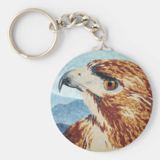 Mya - Red-tail Hawk Keychain