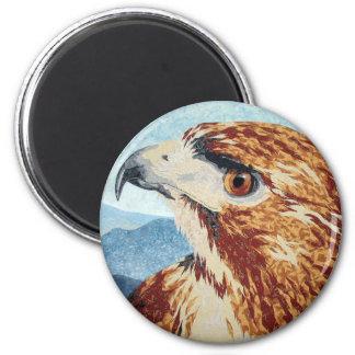 Mya - Red-tail Hawk Magnet