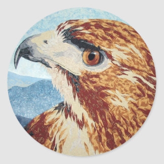 Mya - Red-tail Hawk Sticker
