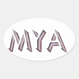 Mya sticker