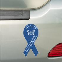 Myalgic Encephalomyelitis Chronic Fatigue Syndrome Car Magnet