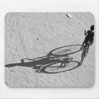 Myamar, Bagan, Young boy riding a huge bike and Mouse Pad