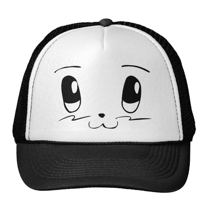 Myan Face (Black) Trucker Hat