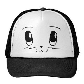 Myan Face (Black) Trucker Hats