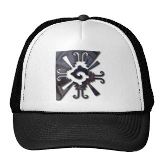 Myan Hunab Ku - Black Chrome Trucker Hat