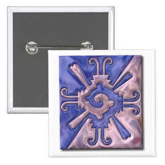 Myan Hunab Ku-glass Pinback Buttons