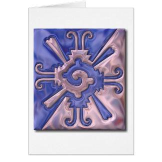 Myan Hunab Ku-glass Card