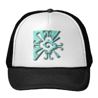 Myan Hunab Ku - Turquoise Trucker Hat