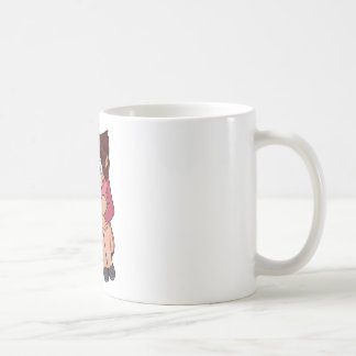 Myan Jump Classic White Coffee Mug
