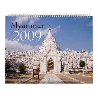Myanmar 2009 Calendar