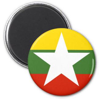 myanmar 2 inch round magnet