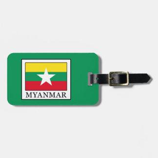 Myanmar Bag Tag