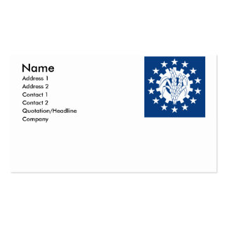 Myanmar Double-Sided Standard Business Cards (Pack Of 100)