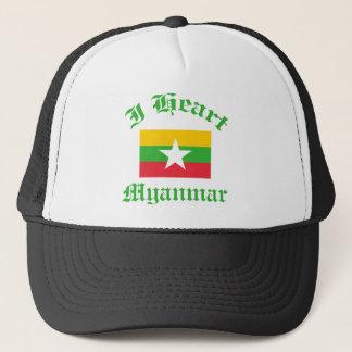 myanmar design trucker hat