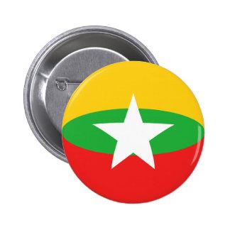 Myanmar Fisheye Flag Button