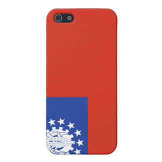 Myanmar Flag 1974-2010 Cover For iPhone SE/5/5s