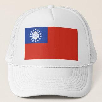 Myanmar Flag 1974-2010 Trucker Hat