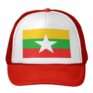 Myanmar Flag Hat