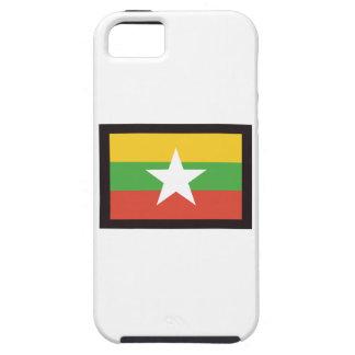 MYANMAR FLAG iPhone SE/5/5s CASE