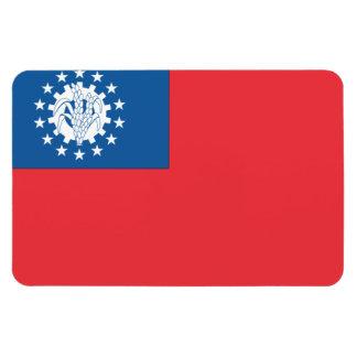 Myanmar Flag Magnet
