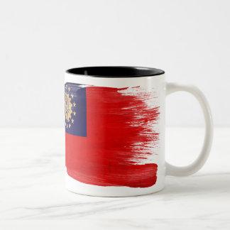 Myanmar Flag Mug
