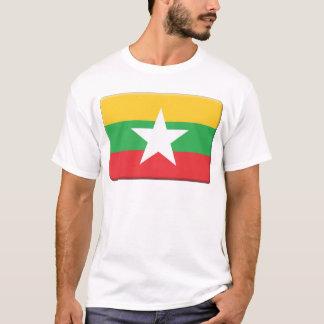 Myanmar Flag PERSONALIZE T-Shirt