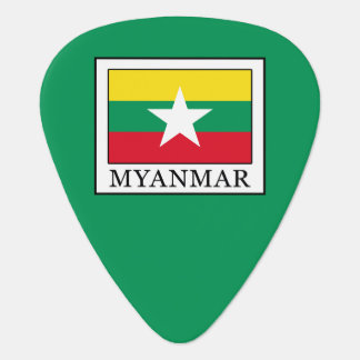 Myanmar Guitar Pick