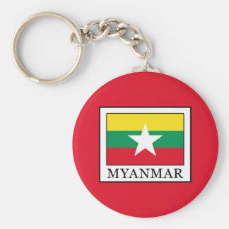 Myanmar Keychain