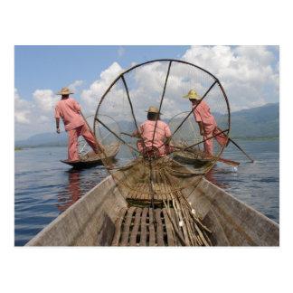 Myanmar Lifestyle Postcard