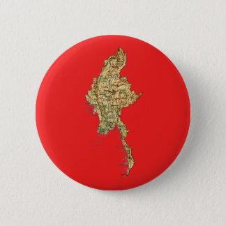 Myanmar Map Button