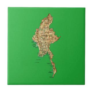 Myanmar Map Tile