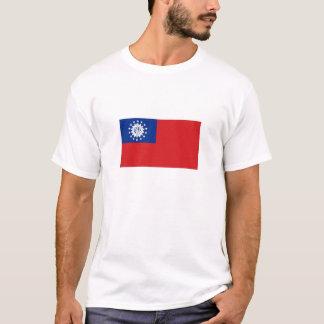 Myanmar National Flag T-Shirt