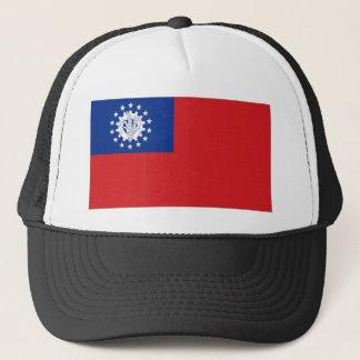 Myanmar National Flag Trucker Hat