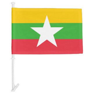 Myanmar National World Flag