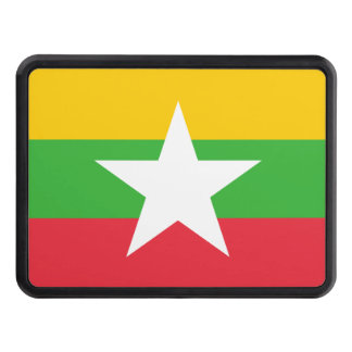 Myanmar National World Flag Trailer Hitch Cover