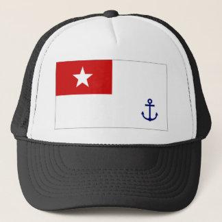 Myanmar Naval Ensign Trucker Hat