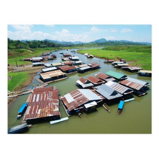 Myanmar Raft Post Cards